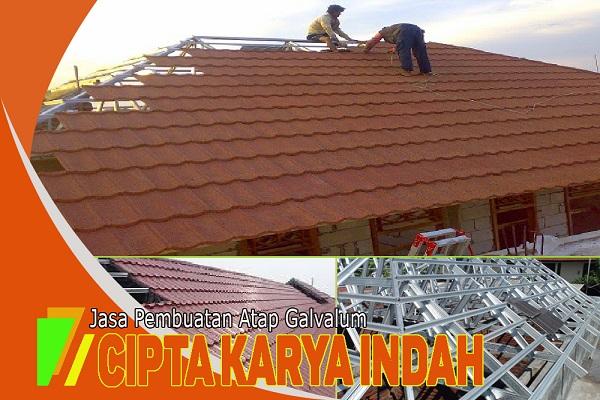 Jasa Pasang Atap Galvalum Area Surabaya