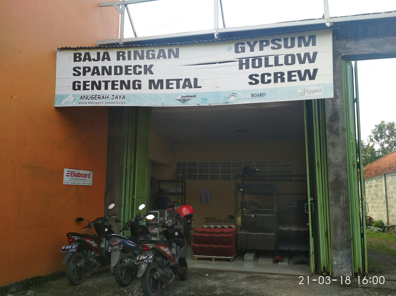 Toko gybsum dan baja ringan MURAH surabaya081216660276